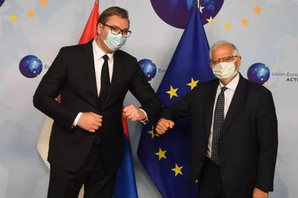 """""""SRBIJA ĆE IZGLEDATI DRUGAČIJE"""" Vučić nakon sastanka sa Boreljom poručio da je ovo jedna najboljih posjeta"""