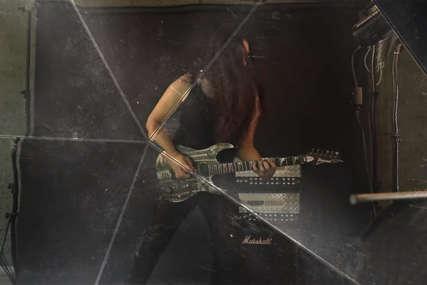 Krenuo očevim stopama: Alen Šenkovski s hevi metal bendom radi na albumu (VIDEO)