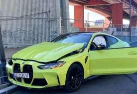ZABIO SE U BANDERU Mladi influenser slupao najnoviji BMW M4 od 510 konja i 120.000 evra