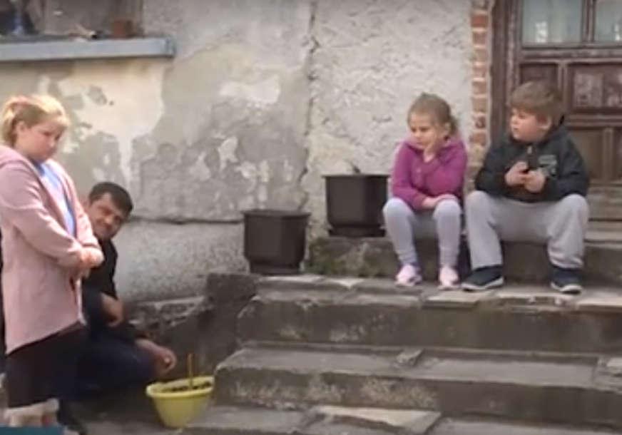 Desetoro djece OSTALO BEZ MAJKE: Biljana (37) iz Broda preminula od tumora, mališani žive u teškim uslovima (VIDEO)