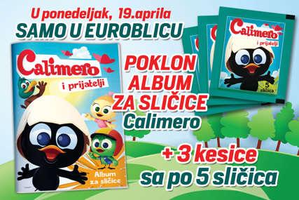 "STVARNO BESPLATNO ""EuroBlic"" daruje novi album i sličice"