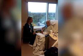Kada je vidjela kako postupaju prema njenom ocu u bolnici, odlučila je da sve snimi (VIDEO)