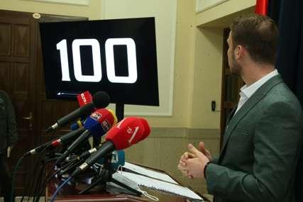 """STANIVUKOVIĆ O 100 DANA MANDATA """"Ne mogu da zaustave našu želju da radimo pošteno i iskreno"""""""