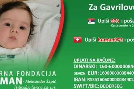 Mali Gavrilo čeka NAJSKUPLJI LIJEK NA SVIJETU: Anonimni humanitarac prodao motor za 9.000 evra, sav novac dao za liječene dječaka