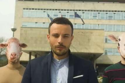 """Psihijatar ušao u trku za gradonačelnika Zagreba """"Niste vi ovce, ali ni ja nisam balvan"""" (VIDEO)"""