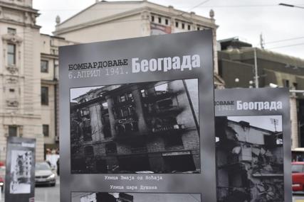 SJEĆANJE NA ŽRTVE I RAZARANJA Na Trgu republike otvorena izložba o bombardovanju Beograda (FOTO)