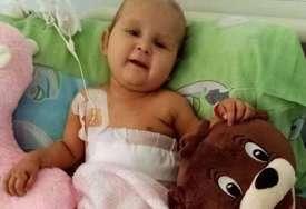 """""""Moja posljednja i prva ljubavi"""" Preminula beba Jana, najmlađi pacijent kom je operisan tumor jetre, majka se oprostila tužnim riječima"""