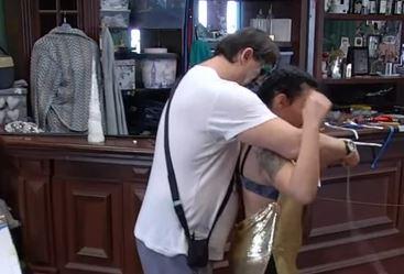 Njihov odnos sve prisniji: Kristina se svukla pred Golubovićem