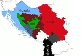 """Srbija do Banjaluke, Albanija do Mitrovice: Ovako bi izgledala MAPA BALKANA, da se pitaju autori slovenačkog """"non pejpera"""""""