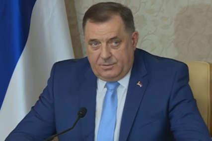 """""""Poštovati slovo Dejtona i njegove anekse"""" Dodik poručio da svi koji žele očuvati međunarodno pravo trebaju poštovati ranije donesene odluke"""