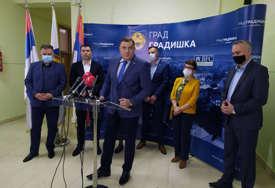 """""""Novi most na Savi otvoriće nove razvojne mogućnosti"""" Dodik u Gradiški najavio rekonstrukcija dva magistralna puta"""