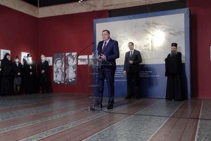 OTVARANJE IZLOŽBE Dodik: Jasenovac dokaz da su na ovim prostorima živjeli monstrumi