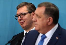 VUČIĆ SUTRA SA DODIKOM Predsjednik Srbije poručio da sankcije ne rješavaju probleme