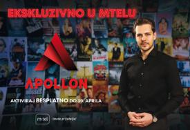 Apollon je stigao u m:tel: Uživajte u novoj videoteci besplatno do kraja aprila