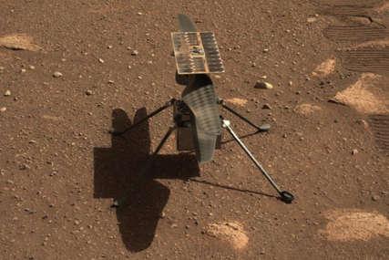 NASA pokušava ISTORIJSKI LET mini helikoptera na Marsu