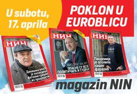 """DANAS POKLON Uz """"EuroBlic"""" besplatno dobijate nedjeljnik NIN"""