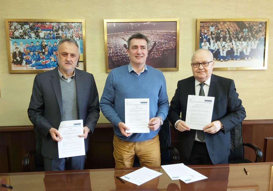 ZA NAPREDAK ODBOJKE Potpisan sporazum o saradnji Srbije i Srpske