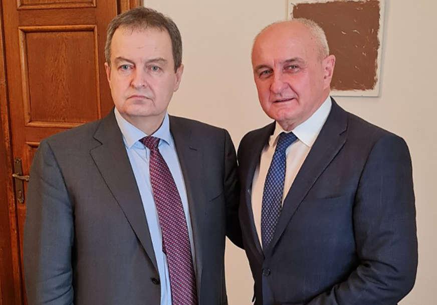 """""""Najbolja do sada"""" Petar Đokić i Ivica Dačić zadovoljni saradnjom Srpske i Srbije"""