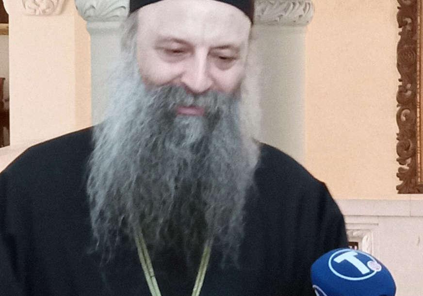 Patrijarh Porfirije čestitao veliki islamski praznik: Kurban-bajram provesti u zdravlju i miru
