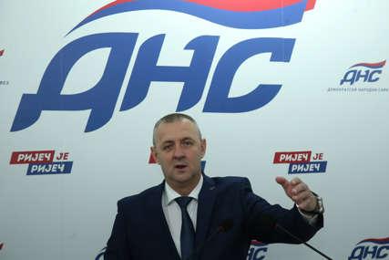 """""""DNS na to neće pristati"""" Jovičić poručio da prerano i jednostrano isticanje kandidata za izbore ide u korist Dodiku"""