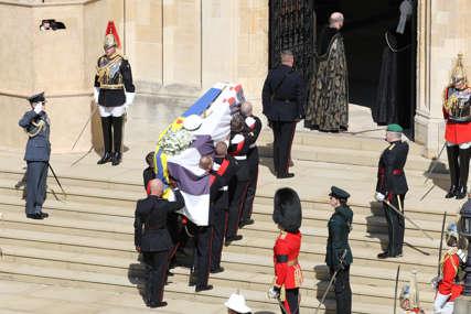 CRNI VEO I MASKA Kejt Midlton se pojavila na sahrani princa Filipa sa posebnim minđušama