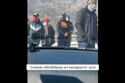 """""""NEĆETE ME ZAUSTAVITI"""" Krivokapić objavio snimke napada na automobil u kojem je bila njegova kćerka i poslao poruku (VIDEO)"""