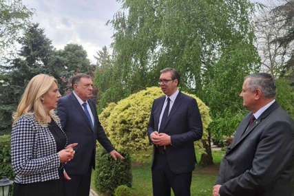 Glavna tema je imenovanje NOVOG VISOKOG PREDSTAVNIKA u BiH: Cvijanovićeva i Dodik danas sa Vučićem