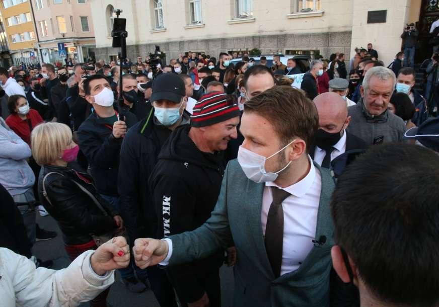 """""""Da nisam izašao smatrao bih to kukavičlukom"""" Stanivuković o odluci da podrži proteste u Banjaluci"""