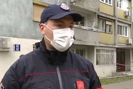 """""""Sanjam njen zagrljaj"""" Vatrogasac Stefan je izvukao bebu iz požara sa 18. sprata, rizikujući VLASTITI ŽIVOT"""