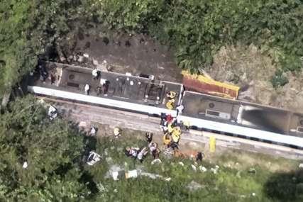 """""""Ljudi su padali jedni preko drugih, bilo je strašno"""" Broj poginulih u željezničkoj nesreći na Tajvanu porastao na 48"""