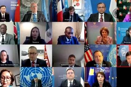 Rusija tražila da Priština ukloni zastavu tzv. Kosova: Prekinuta sjednica Savjeta Bezbjednosti UN (VIDEO)