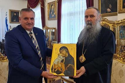 Susret Viškovića i vladike Fotija: Vlada će nastaviti da podržava rad SPC i Eparhije zvorničko-tuzlanske