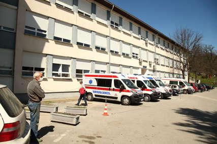 PANDEMIJA U DOBOJU U kovid odjeljenju hospitalizovana 153 pacijenta