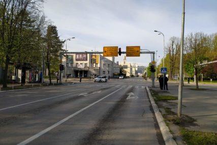 Zatvorena glavna ulica: Zbog dolaska delegacije Srbije saobraćaj u centru Banjaluke obustavljen do 12 časova (FOTO)