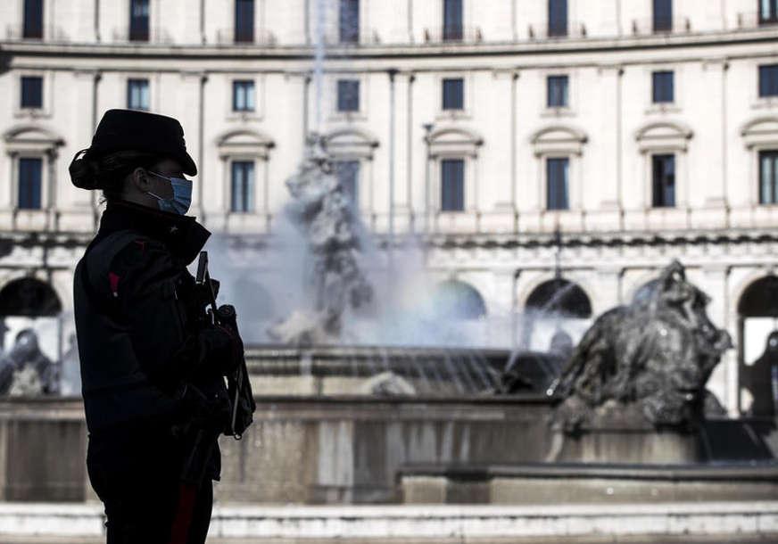 Italija na udaru korona virusa: U posljednja 24 časa umrlo 469 ljudi