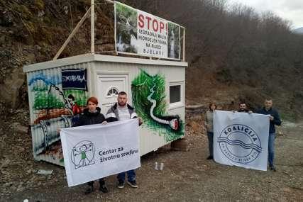 """""""KUĆA ZA ODBRANU RIJEKA"""" Ekolozi uporni u borbi protiv gradnje na Bjelavi"""