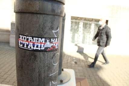 """""""HOĆEMO NA STADION"""" Navijači Borca poslali poruku nadležnima (FOTO)"""