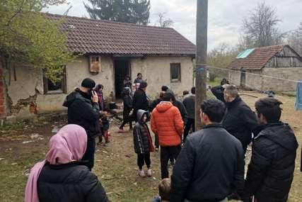 Izmješteni iz napuštenih objekata: Devet migrantskih porodica smješteno u migrantske centre