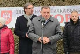 """""""MIRNI RAZLAZ JEDINA OPCIJA"""" Dodik istakao da nije za promjenu granica"""