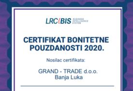 Grand trade među NAJUSPJEŠNIJIM I NAJBOLJE VOĐENIM kompanijama u BiH