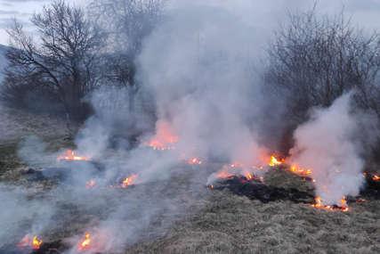 UŽAS U PRNJAVORU Pokušao ugasiti požar na njivi pa smrtno stradao