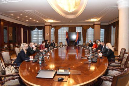 Delegacija Srbije u Srpskoj: Razgovarali Višković i Brnabićeva, Čubrilović i Dačić (FOTO)
