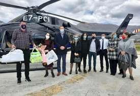 VAZDUŠNI MEDICINSKI TRANSPORT Kusturić: Helikopterski servis je uvijek na raspolaganju građanima Srpske