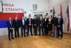Izgradnja novog objekta za Dom zdravlja: Načelnik opštine Stanari razgovarao sa delegacijom Srbije (FOTO)