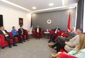 BRATIMLJENJE DVA GRADA Bato Carević i delegacija Budve posjetili SPS u Banjaluci
