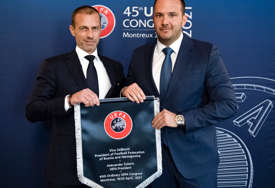 ZELJKOVIĆ ZADOVOLJAN UEFA pomaže infrastrukturne projekte