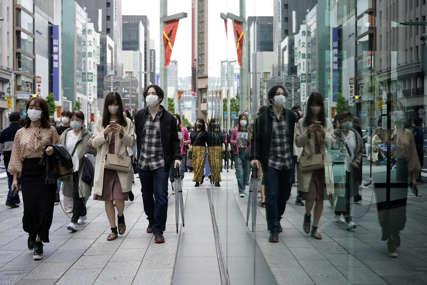 Dramatično u Japanu: Rekordan broj zaraženih sa teškom kliničkom slikom