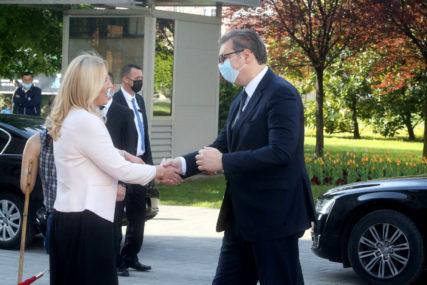 Cvijanovićeva pred sastanak sa Vučićem: Očekujem podršku Srbije da se borimo za pravo i pravednost