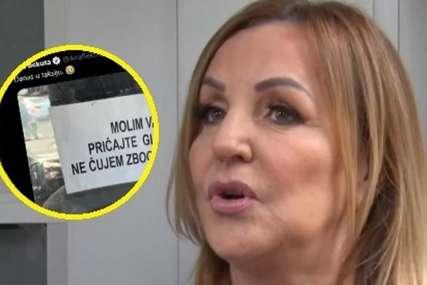 """""""Ja ne mogu da vjerujem"""" Ana Bekuta pokazala šta je zatekla u taksiju (FOTO)"""