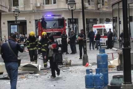 """""""Samo je ječala, bila je bez odjeće"""" Potresne ispovijesti svjedoka eksplozije u centru Beograda (VIDEO)"""
